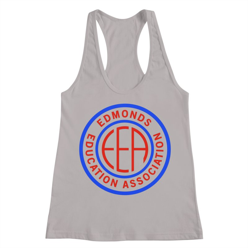 Edmonds EA Seal Full Size Women's Racerback Tank by Edmonds Education Association Swag Shop