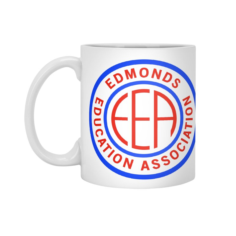 Edmonds EA Seal Full Size Accessories Standard Mug by Edmonds Education Association Swag Shop