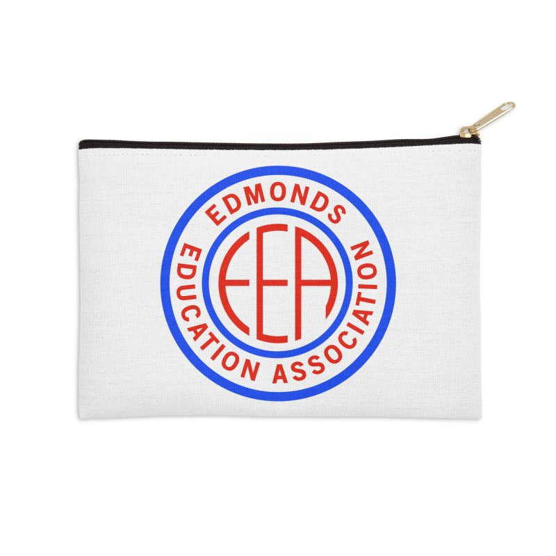 Edmonds EA Seal Full Size Accessories Zip Pouch by Edmonds Education Association Swag Shop