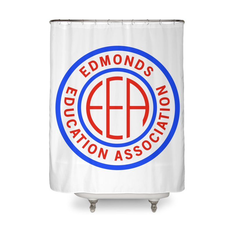 Edmonds EA Seal Full Size Home Shower Curtain by Edmonds Education Association Swag Shop