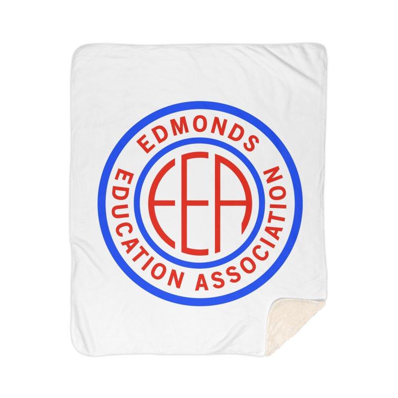 Edmonds EA Seal Full Size Home Sherpa Blanket Blanket by Edmonds Education Association Swag Shop