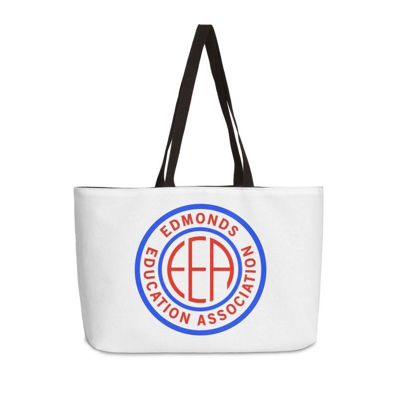 Edmonds EA Seal Full Size Accessories Weekender Bag Bag by Edmonds Education Association Swag Shop