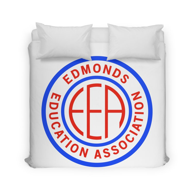 Edmonds EA Seal Full Size Home Duvet by Edmonds Education Association Swag Shop