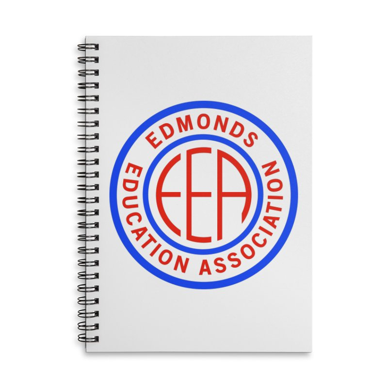 Edmonds EA Seal Full Size Accessories Lined Spiral Notebook by Edmonds Education Association Swag Shop