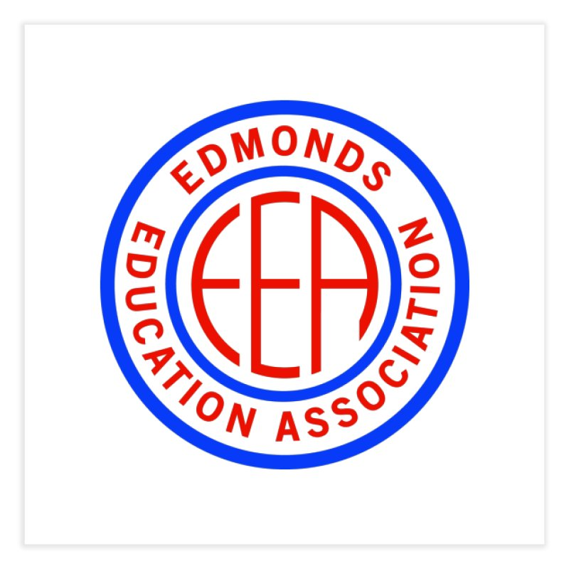 Edmonds EA Seal Full Size Home Fine Art Print by Edmonds Education Association Swag Shop