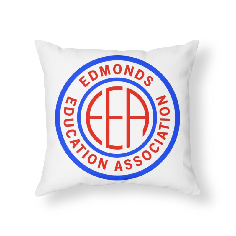 Edmonds EA Seal Full Size Home Throw Pillow by Edmonds Education Association Swag Shop