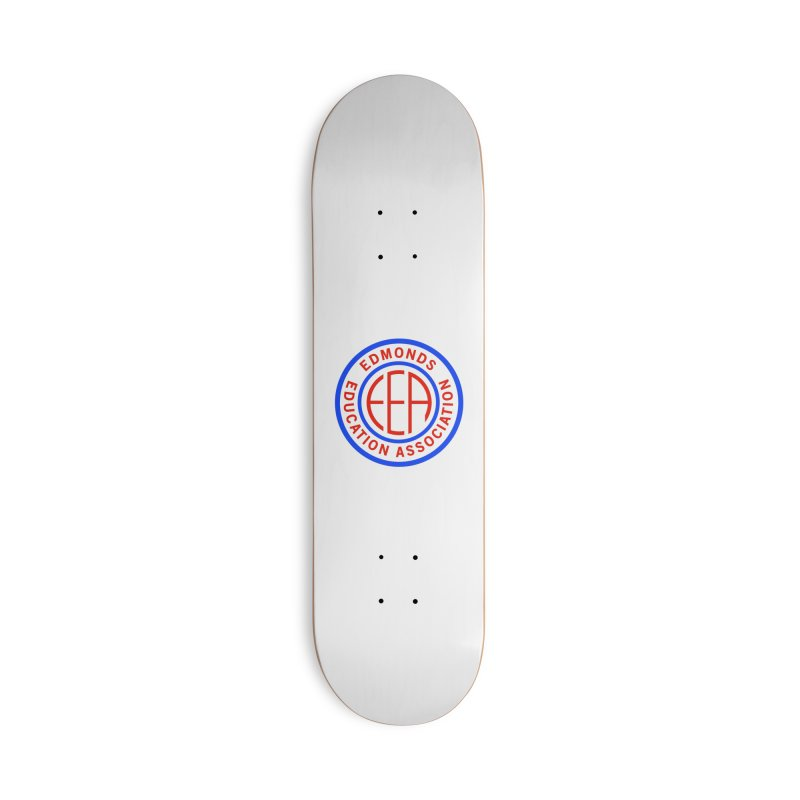 Edmonds EA Seal Full Size Accessories Deck Only Skateboard by Edmonds Education Association Swag Shop