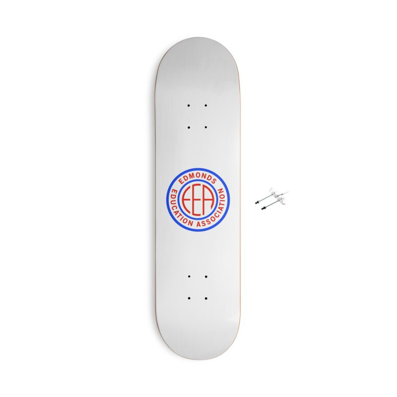 Edmonds EA Seal Full Size Accessories With Hanging Hardware Skateboard by Edmonds Education Association Swag Shop