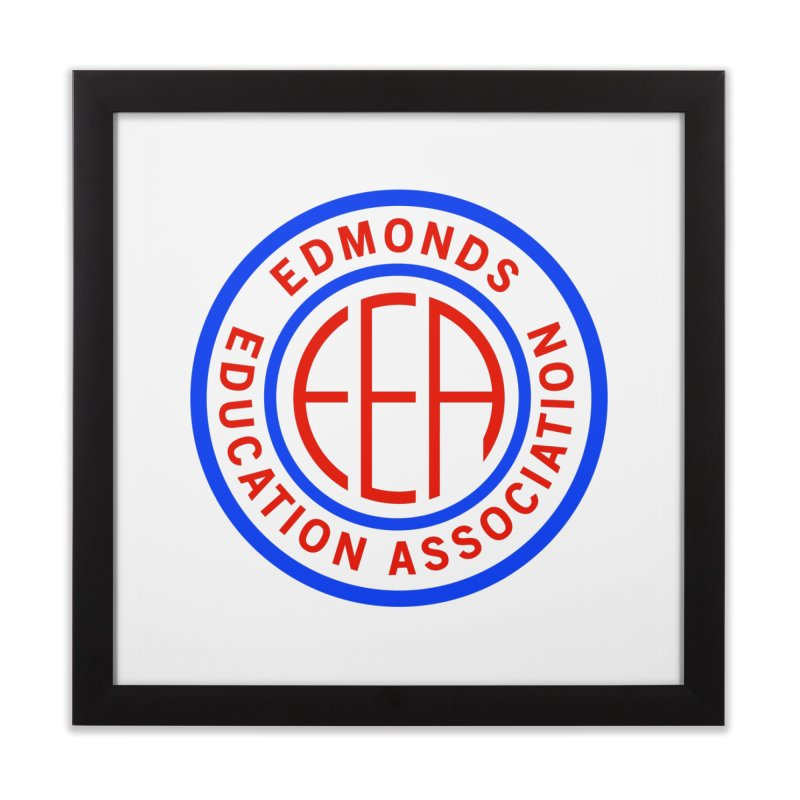 Edmonds EA Seal Full Size Home Framed Fine Art Print by Edmonds Education Association Swag Shop