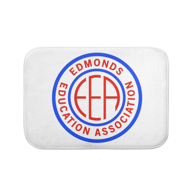Edmonds EA Seal Full Size Home Bath Mat by Edmonds Education Association Swag Shop
