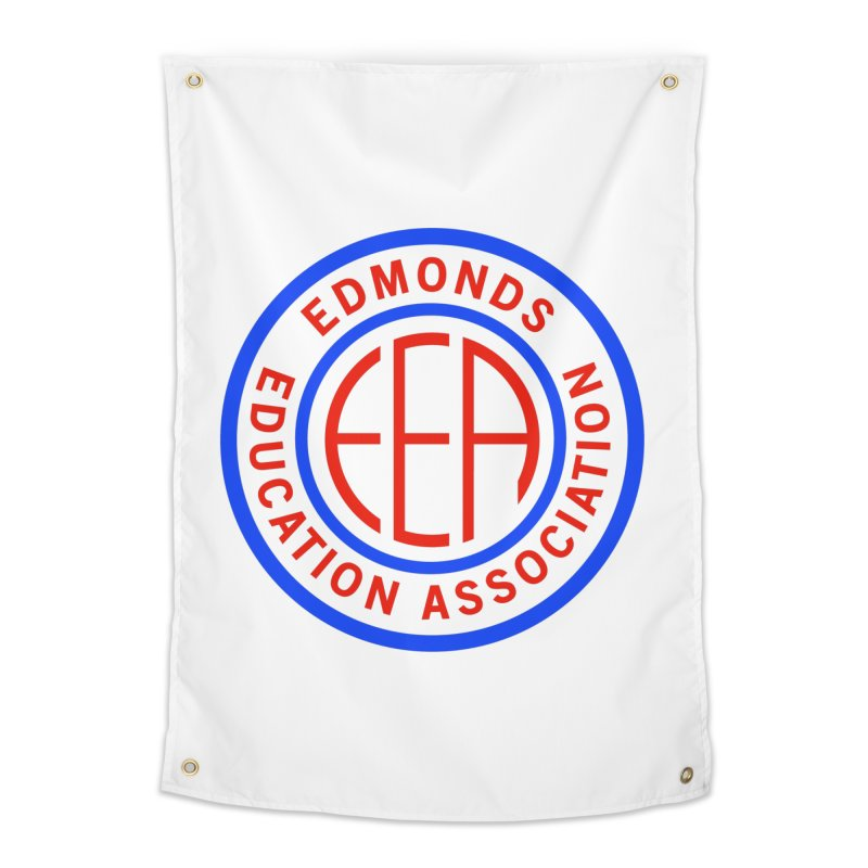 Edmonds EA Seal Full Size Home Tapestry by Edmonds Education Association Swag Shop