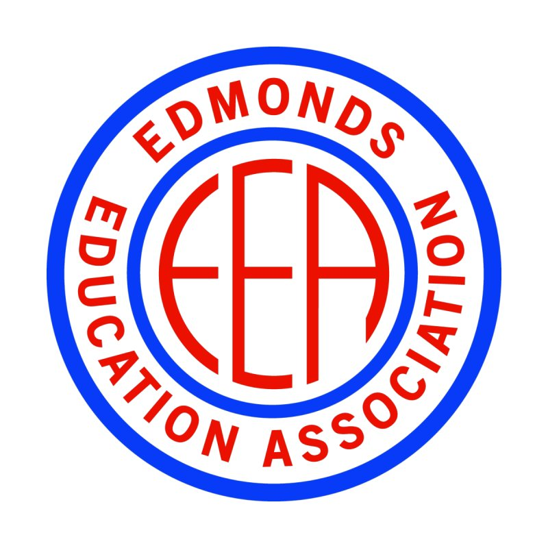 Edmonds EA Seal Logo Size Women's V-Neck by Edmonds Education Association Swag Shop