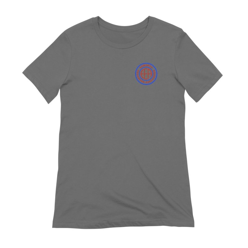 Edmonds EA Seal Logo Size Women's T-Shirt by Edmonds Education Association Swag Shop