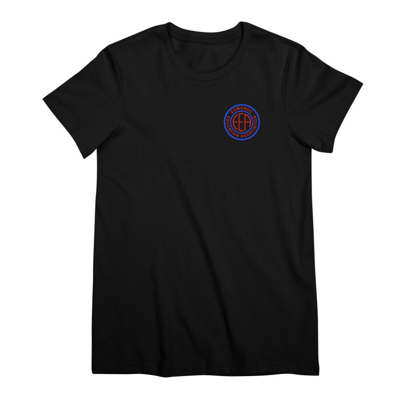 Edmonds EA Seal Logo Size Women's Premium T-Shirt by Edmonds Education Association Swag Shop