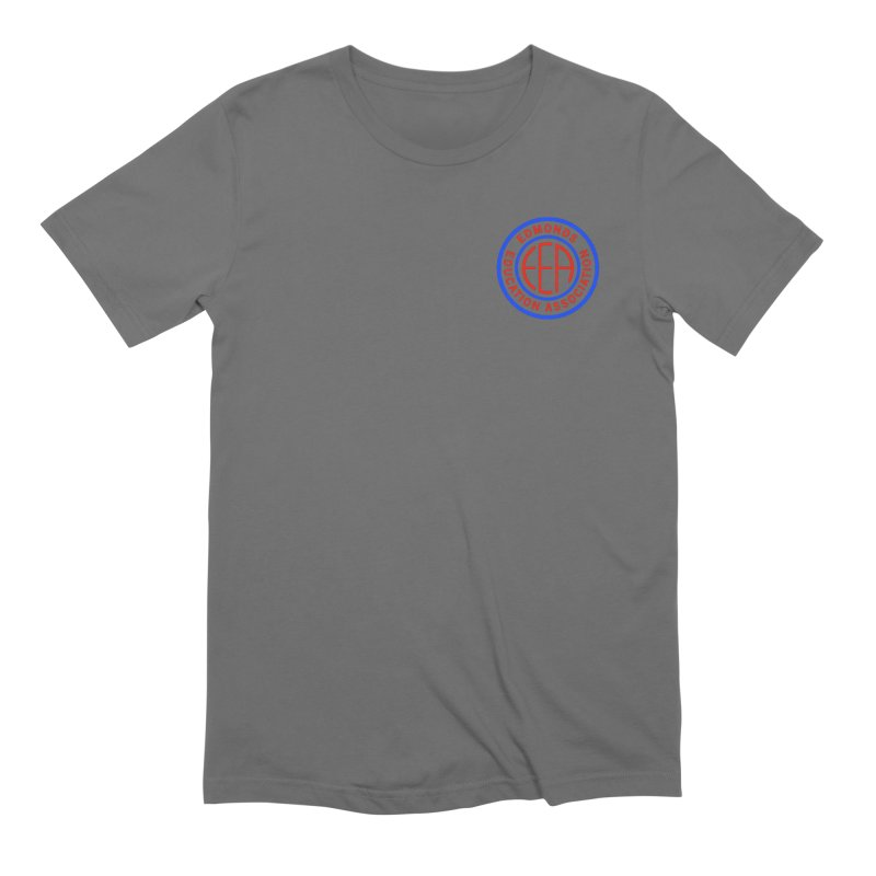 Edmonds EA Seal Logo Size Men's T-Shirt by Edmonds Education Association Swag Shop