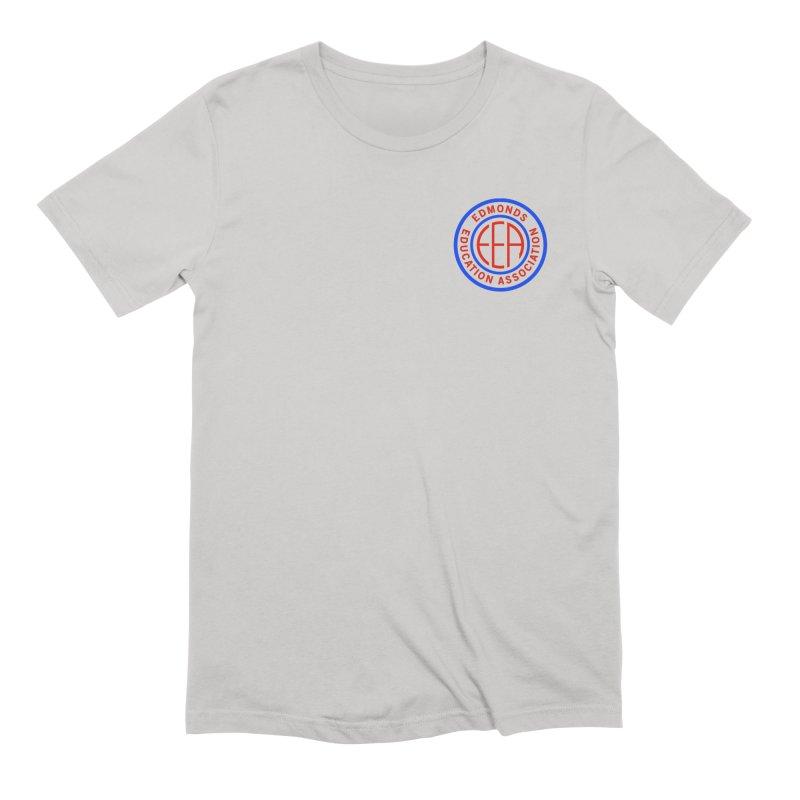 Edmonds EA Seal Logo Size Men's Extra Soft T-Shirt by Edmonds Education Association Swag Shop