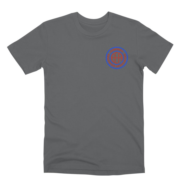 Edmonds EA Seal Logo Size Men's T-Shirt by Edmonds Education Association Swag Shop