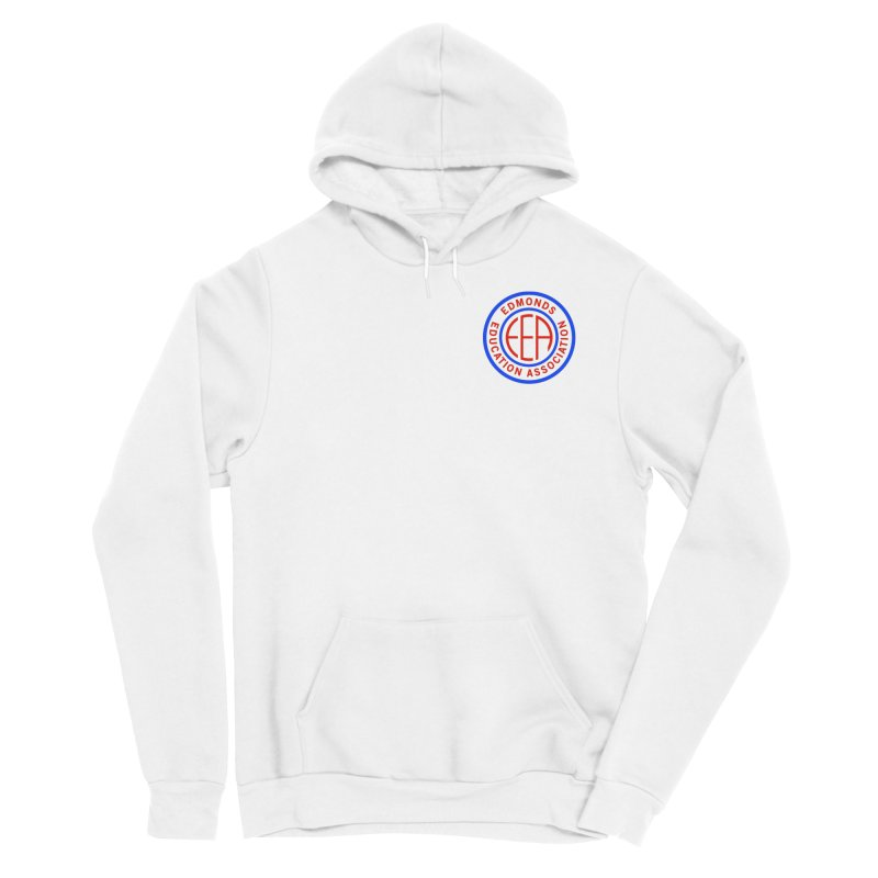 Edmonds EA Seal Logo Size Women's Sponge Fleece Pullover Hoody by Edmonds Education Association Swag Shop