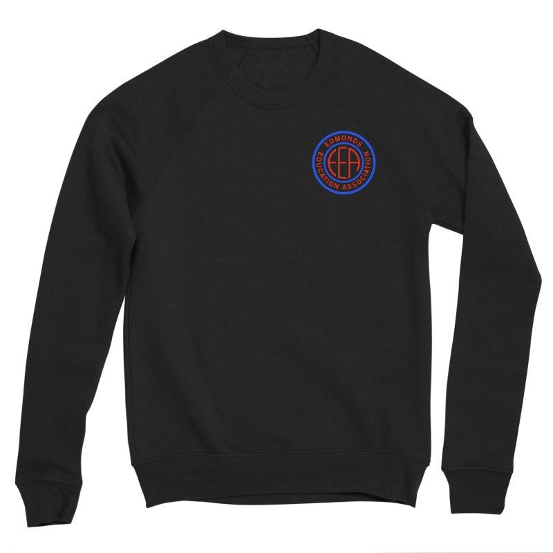 Edmonds EA Seal Logo Size Women's Sponge Fleece Sweatshirt by Edmonds Education Association Swag Shop