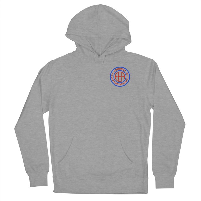 Edmonds EA Seal Logo Size Women's Pullover Hoody by Edmonds Education Association Swag Shop