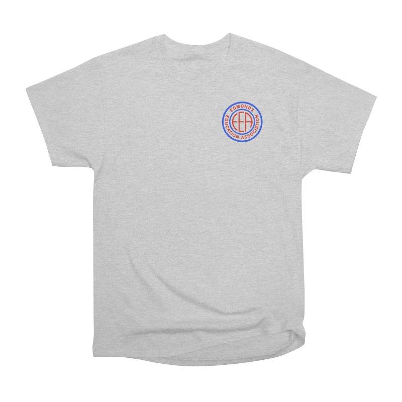 Edmonds EA Seal Logo Size Men's Heavyweight T-Shirt by Edmonds Education Association Swag Shop