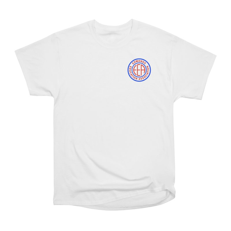 Edmonds EA Seal Logo Size Women's Heavyweight Unisex T-Shirt by Edmonds Education Association Swag Shop