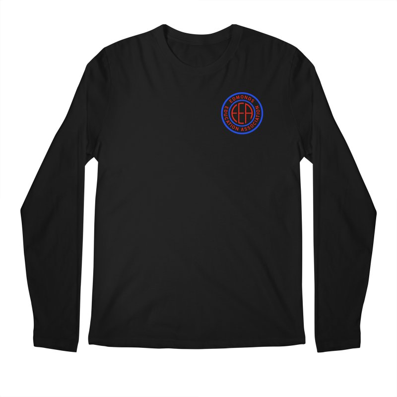 Edmonds EA Seal Logo Size Men's Regular Longsleeve T-Shirt by Edmonds Education Association Swag Shop