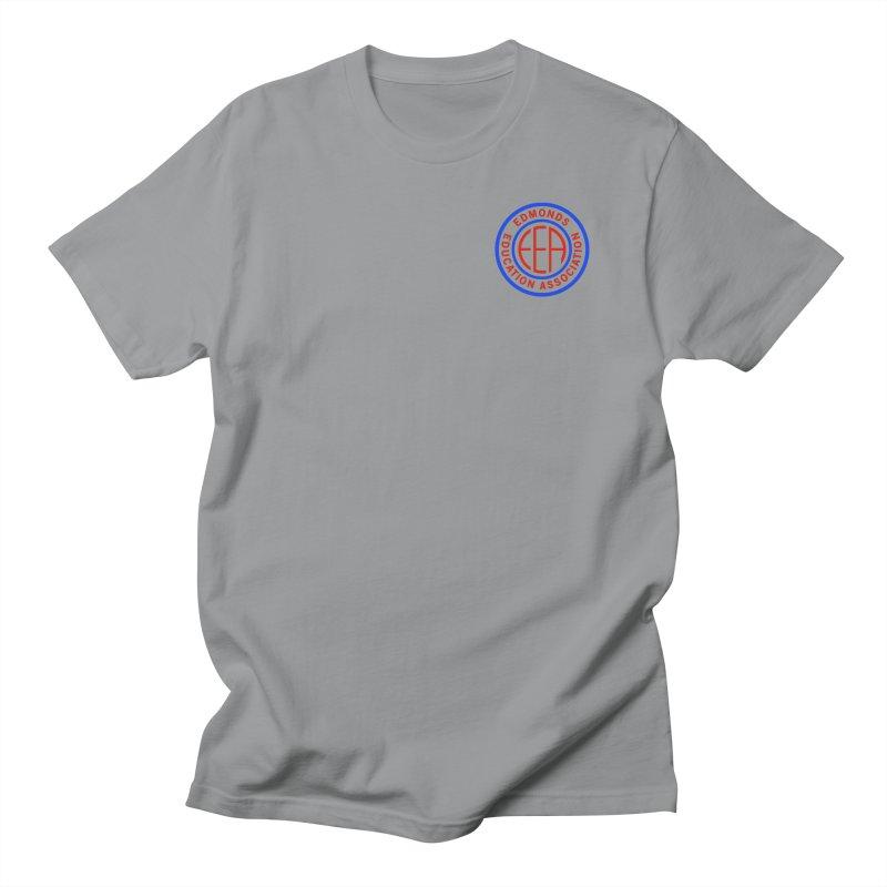 Edmonds EA Seal Logo Size Men's Regular T-Shirt by Edmonds Education Association Swag Shop