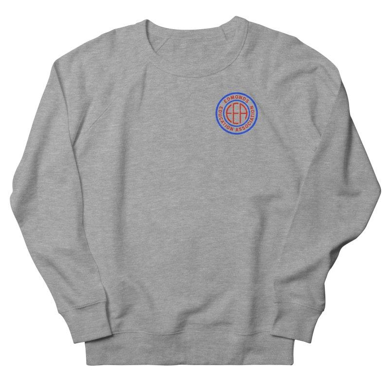 Edmonds EA Seal Logo Size Men's French Terry Sweatshirt by Edmonds Education Association Swag Shop