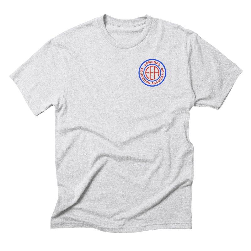 Edmonds EA Seal Logo Size Men's Triblend T-Shirt by Edmonds Education Association Swag Shop