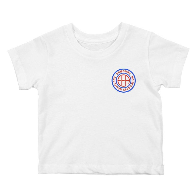 Edmonds EA Seal Logo Size Kids Baby T-Shirt by Edmonds Education Association Swag Shop