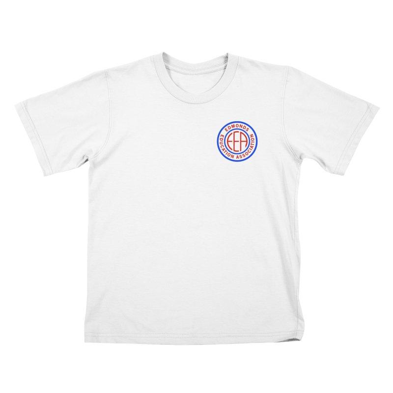 Edmonds EA Seal Logo Size Kids T-Shirt by Edmonds Education Association Swag Shop