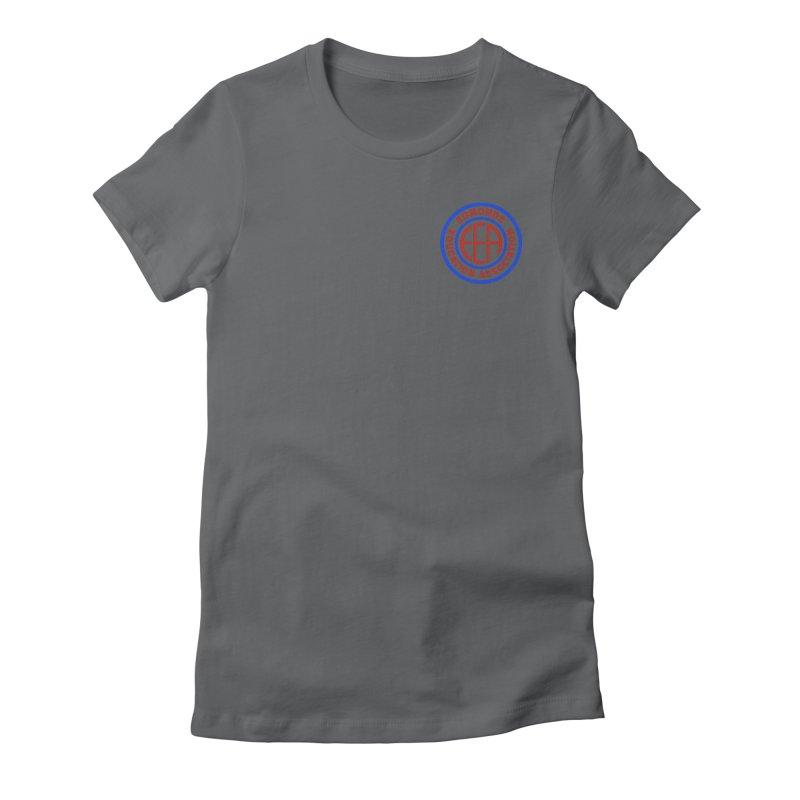 Edmonds EA Seal Logo Size Women's Fitted T-Shirt by Edmonds Education Association Swag Shop
