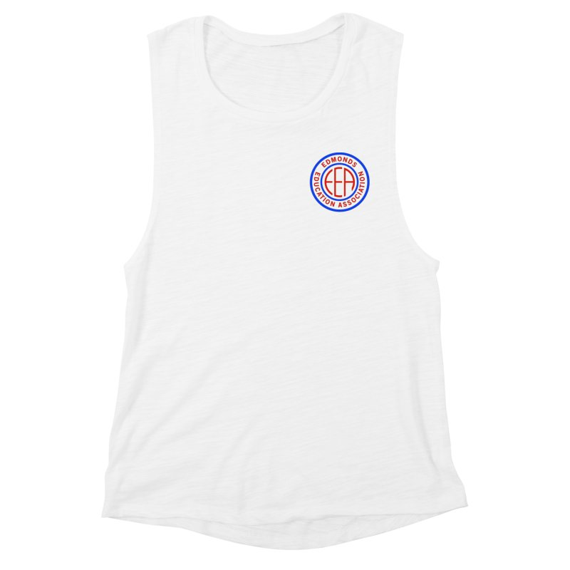 Edmonds EA Seal Logo Size Women's Muscle Tank by Edmonds Education Association Swag Shop