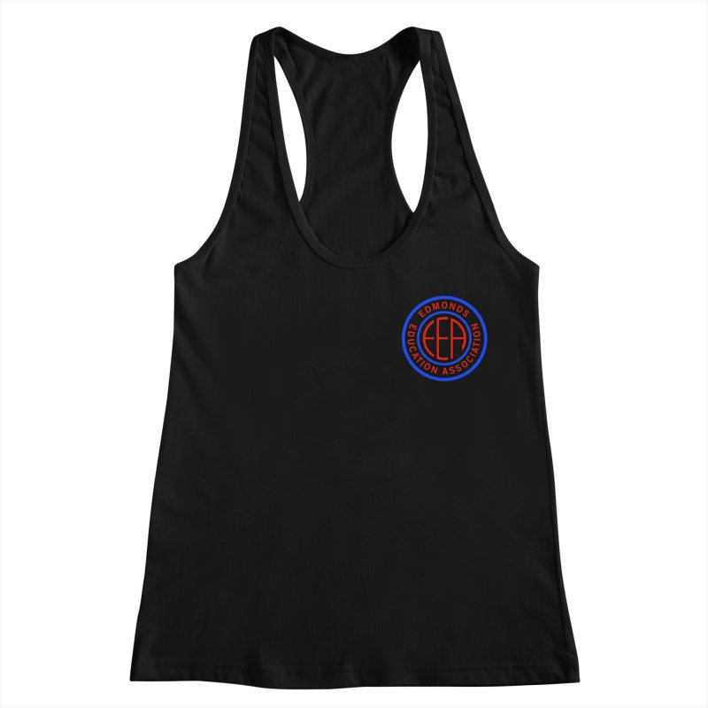 Edmonds EA Seal Logo Size Women's Racerback Tank by Edmonds Education Association Swag Shop