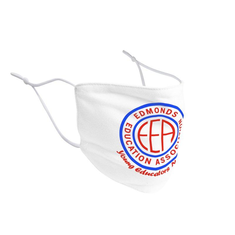 Edmonds EA Seal-Young Educators Network Accessories Face Mask by Edmonds Education Association Swag Shop