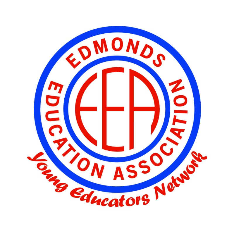 Edmonds EA Seal-Young Educators Network Men's T-Shirt by Edmonds Education Association Swag Shop