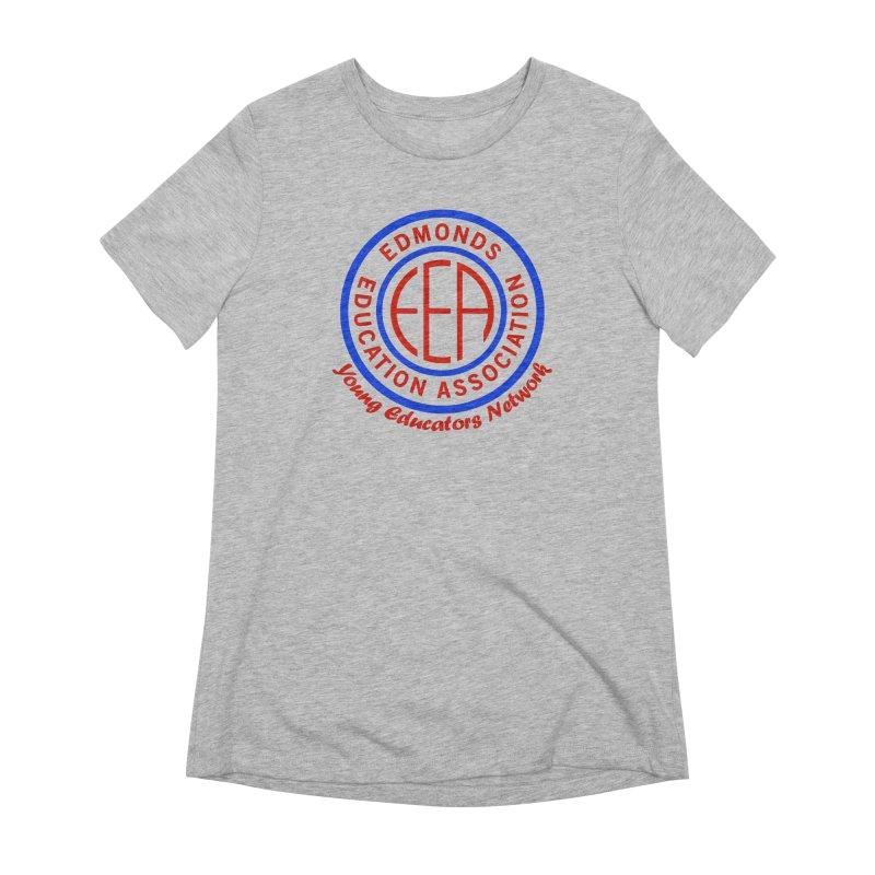 Edmonds EA Seal-Young Educators Network Women's Extra Soft T-Shirt by Edmonds Education Association Swag Shop