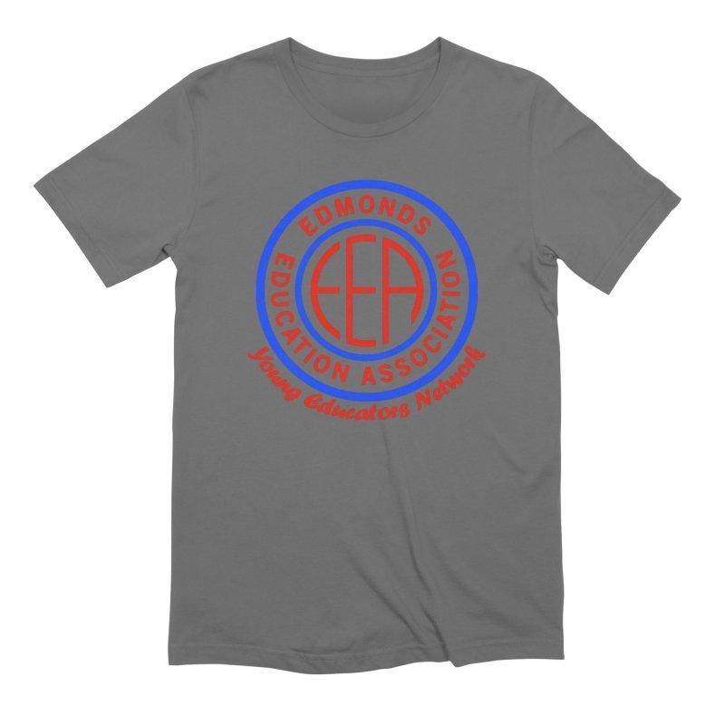 Edmonds EA Seal-Young Educators Network Men's T-Shirt by Edmonds Education Association Swag Shop