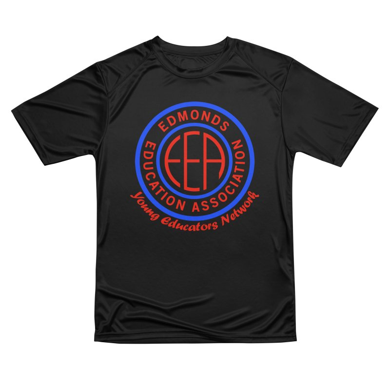 Edmonds EA Seal-Young Educators Network Men's Performance T-Shirt by Edmonds Education Association Swag Shop