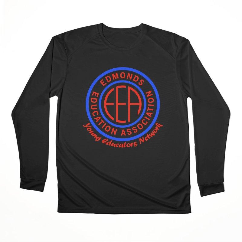 Edmonds EA Seal-Young Educators Network Men's Performance Longsleeve T-Shirt by Edmonds Education Association Swag Shop