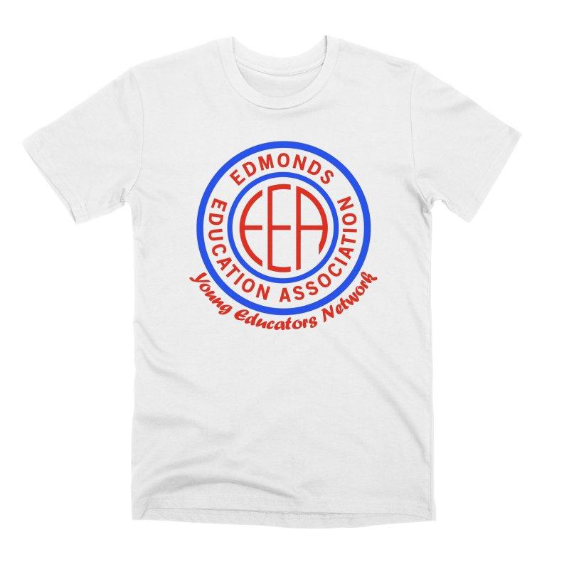 Edmonds EA Seal-Young Educators Network Men's Premium T-Shirt by Edmonds Education Association Swag Shop