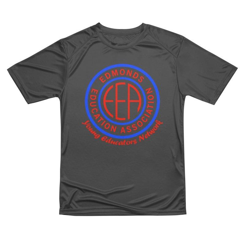 Edmonds EA Seal-Young Educators Network Men's Performance T-Shirt by Edmonds Education Association Swag Shop