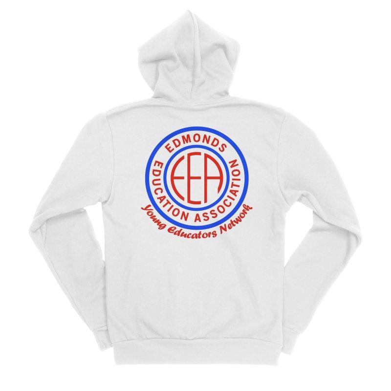 Edmonds EA Seal-Young Educators Network Men's Sponge Fleece Zip-Up Hoody by Edmonds Education Association Swag Shop