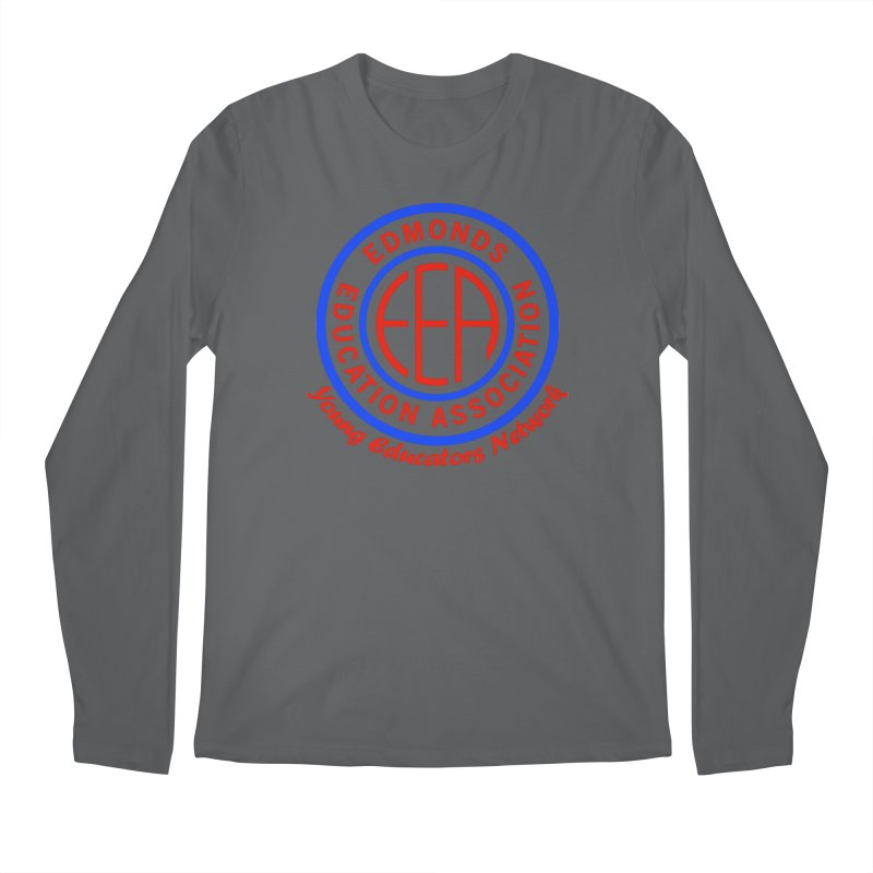 Edmonds EA Seal-Young Educators Network Men's Longsleeve T-Shirt by Edmonds Education Association Swag Shop