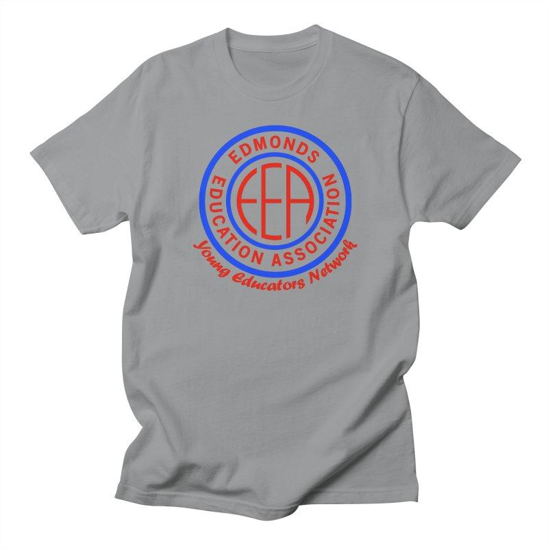 Edmonds EA Seal-Young Educators Network Men's Regular T-Shirt by Edmonds Education Association Swag Shop