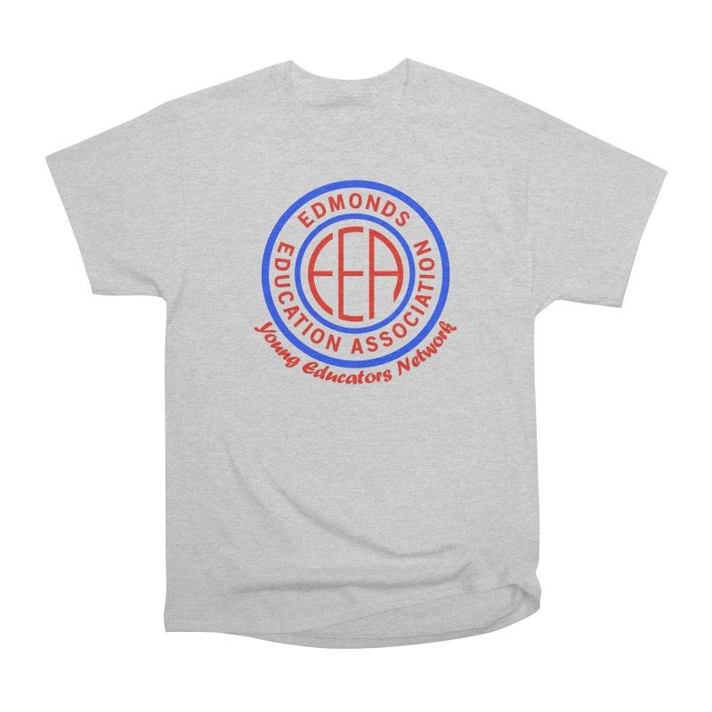 Edmonds EA Seal-Young Educators Network Men's Heavyweight T-Shirt by Edmonds Education Association Swag Shop