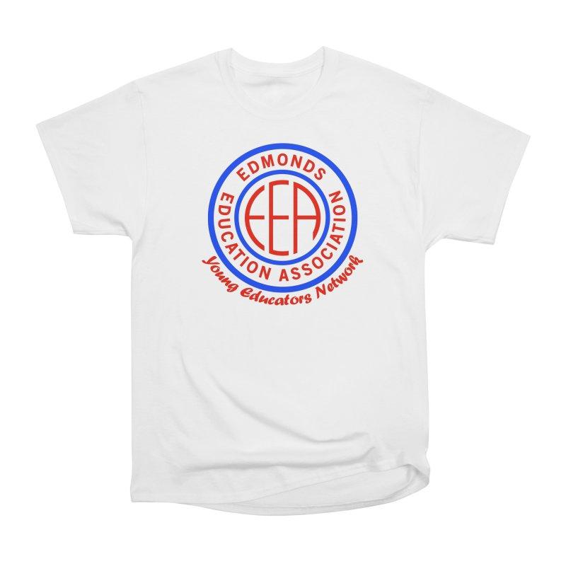 Edmonds EA Seal-Young Educators Network Women's Heavyweight Unisex T-Shirt by Edmonds Education Association Swag Shop