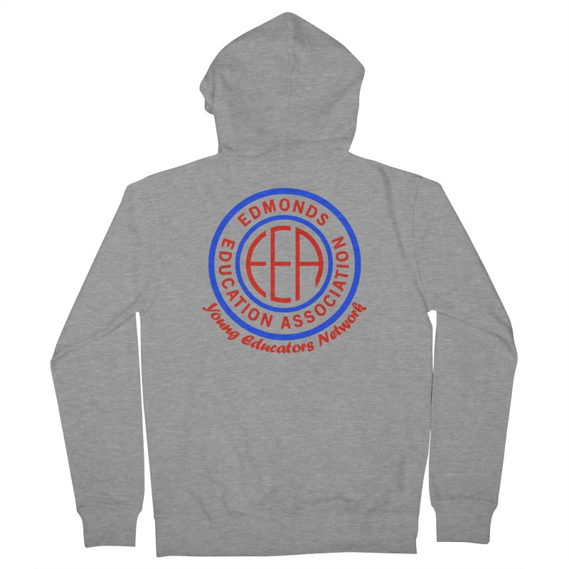 Edmonds EA Seal-Young Educators Network Men's French Terry Zip-Up Hoody by Edmonds Education Association Swag Shop