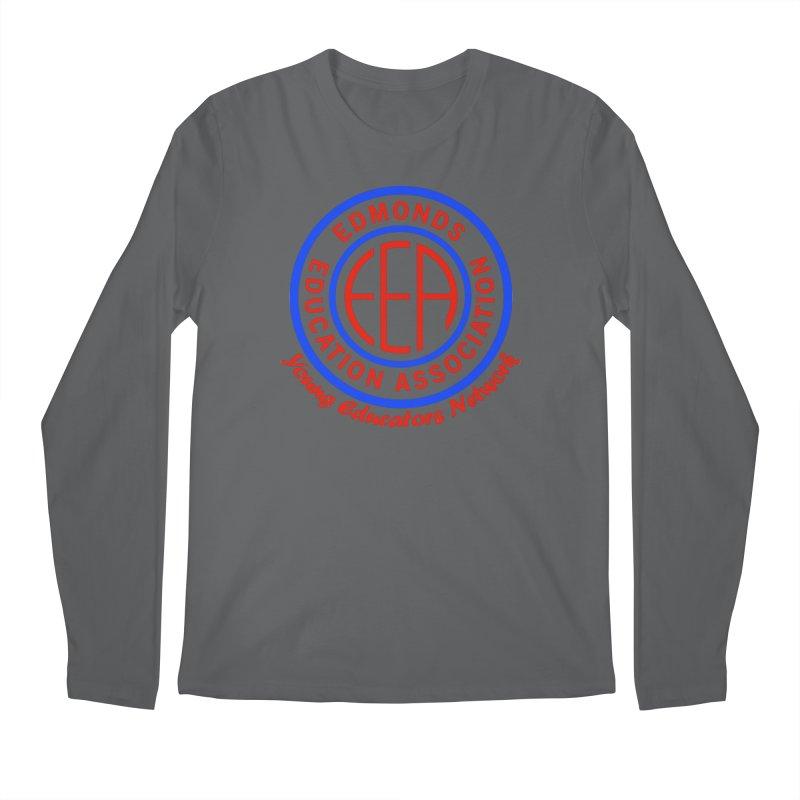 Edmonds EA Seal-Young Educators Network Men's Regular Longsleeve T-Shirt by Edmonds Education Association Swag Shop